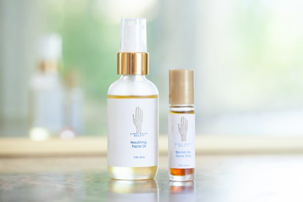 Image of Aimee Raupp Nourishing Facial Oil and Blemish Be-Gone Stick