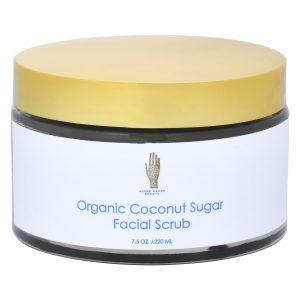 Image of Front of Organic Coconut Sugar Scrub