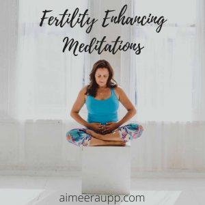 Image of Aimee Raupp Meditating