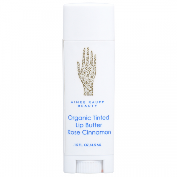 Image of Aimee Raupp Rose Cinnamon Organic Tinted Lip Butter