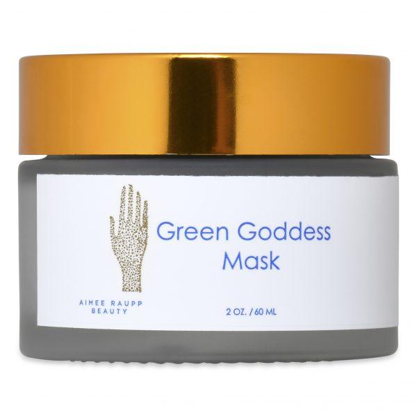Image of Aimee Raupp Green Goddess Mask