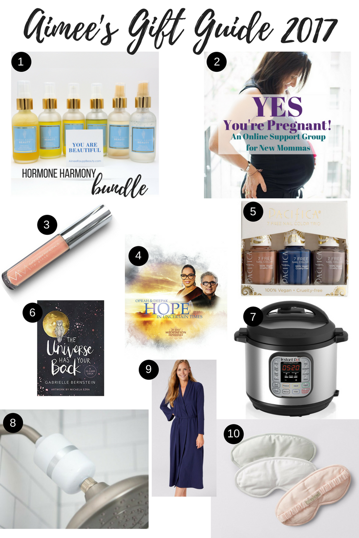 Image of Aimee's Gift Guide 2017
