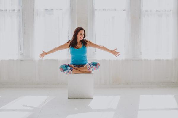Image of Aimee Meditating