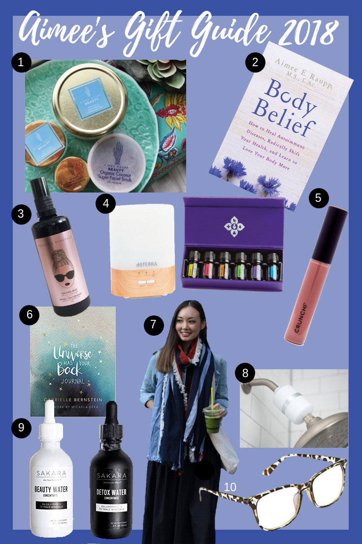 Image of Aimee's Gift Guide 2018