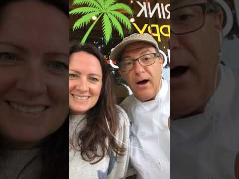 Image of Aimee Raupp and chef
