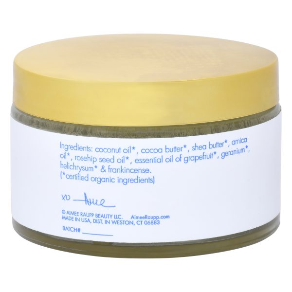Image of Back of Aimee Raupp Organic Belly Butter