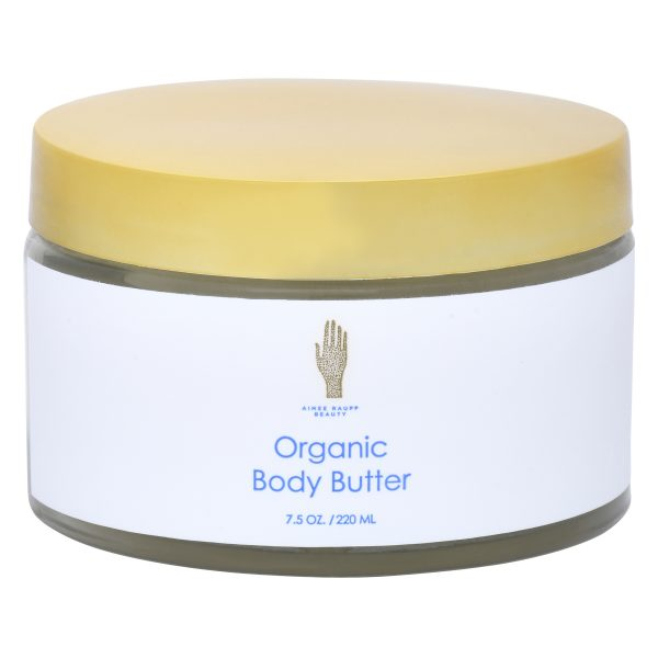 Image of Front of Organic Body Butter