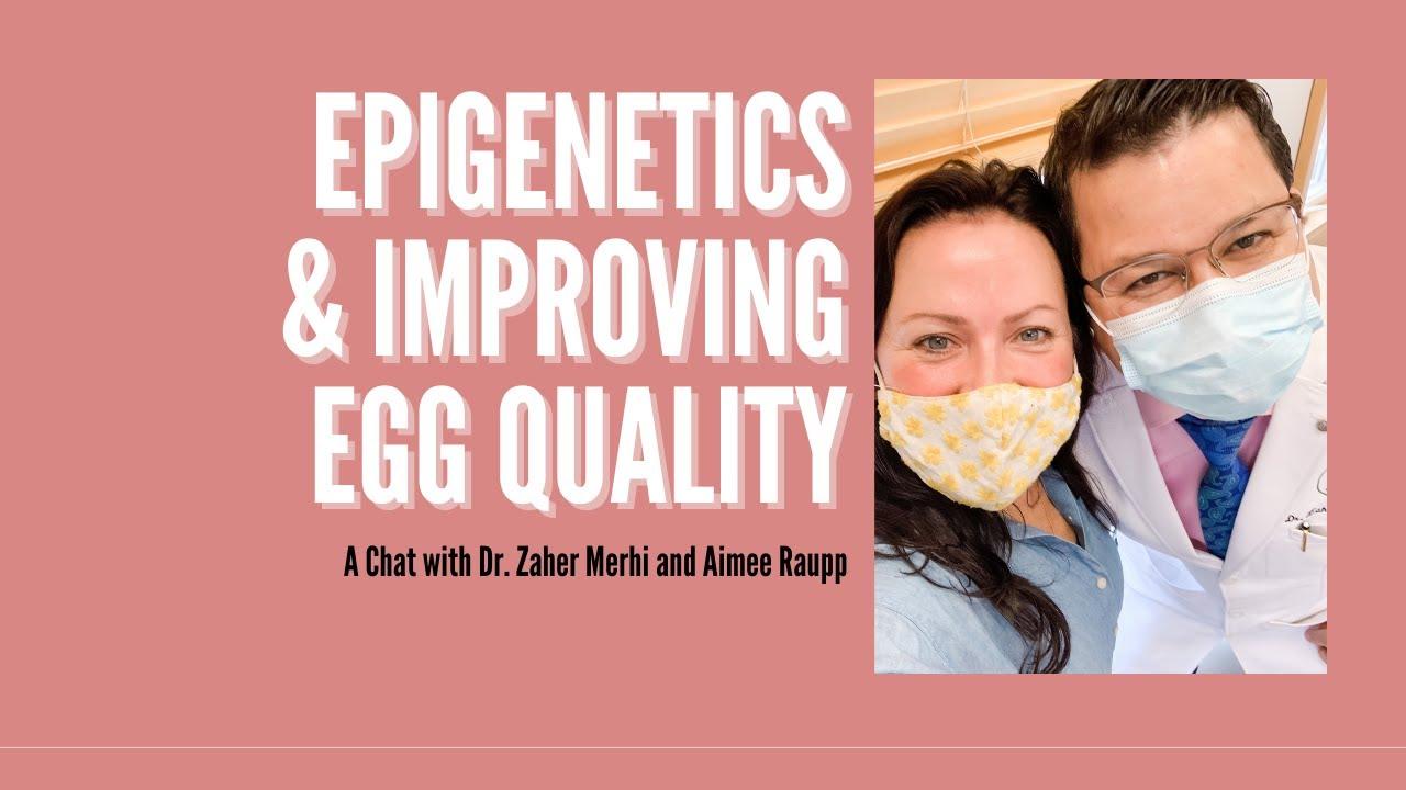 Photograph of Aimee Raupp and Dr. Zaher Merhi